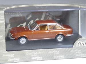 Starline Fiat 124 Sport Coupé 1969 kupfer metallic in 1:43 in OVP