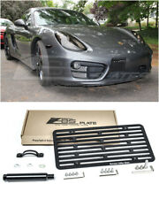 EOS Plate For 13-16 Porsche Boxster 981 NO PDC Front Tow Hook License Mount Kit