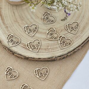 Wooden-Love-Heart-Table-Confetti-Rustic-Country-Wedding-Decoration-25-pieces