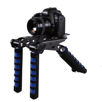 DSLR Cameras Rig Movie Kit Shoulder Mount for Canon EOS 5D Mark II Panasonic
