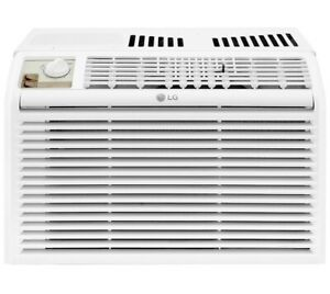 LG 5000 BTU 115-Volt 150 sq. ft. Window Air Conditioner