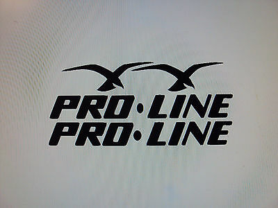 "PRO-LINE PROLINE 12/"" BOAT TRUCK DECAL Marine Vinyl sticker"