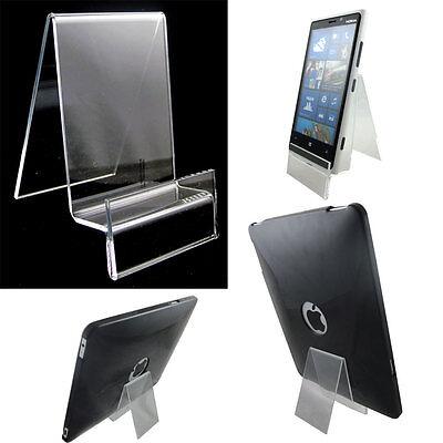 Ambizioso Stand Supporto Tavolo Pure Crystal Per Samsung Galaxy Tab S2 8.0 T710 Design Accattivanti;