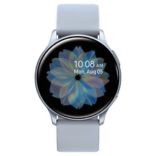 Samsung Galaxy Active 2 Smartwatch 40mm Cloud Silver SM-R830NZSCXAR Bundle