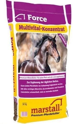 Marstall Force 20kg  /Kg Vitamine Mineralien Mineralfutter
