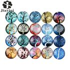 Life Tree Glass Dome Cabochon 20mm DIY Accessories Dome Flatback Findings 10PCS