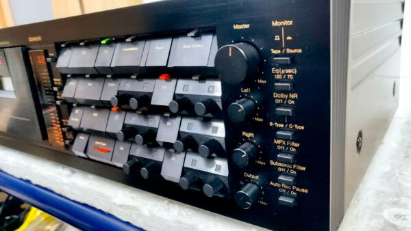 Nakamichi Dragon 3 Heads Auto Reverse Tape Deck Serviced Low Use New Trim Superb