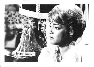 B70815 Simone Signoret actors acteurs 7x5cm