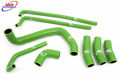 KAWASAKI ZX7R 1996-2003 97 98 99 01 02 HIGH PERFORMANCE SILICONE RADIATOR HOSES