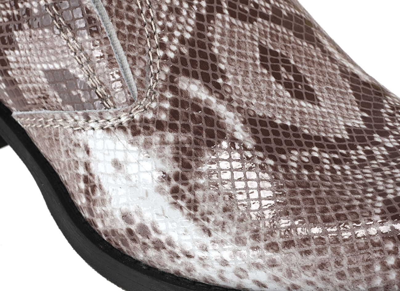 Comodo Hand made cowboy western stivali Sauro multi Leather siz siz siz 44 Snakeskin print a06109