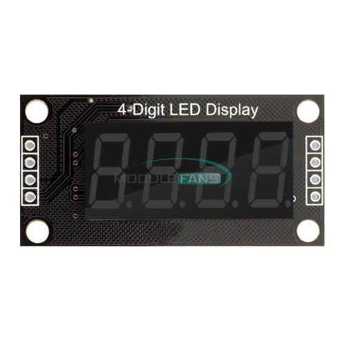"""Red//Green//Blue//Yellow//White 0.36 /""""Inch TM1637 4-Digit LED Display Tube Module"""