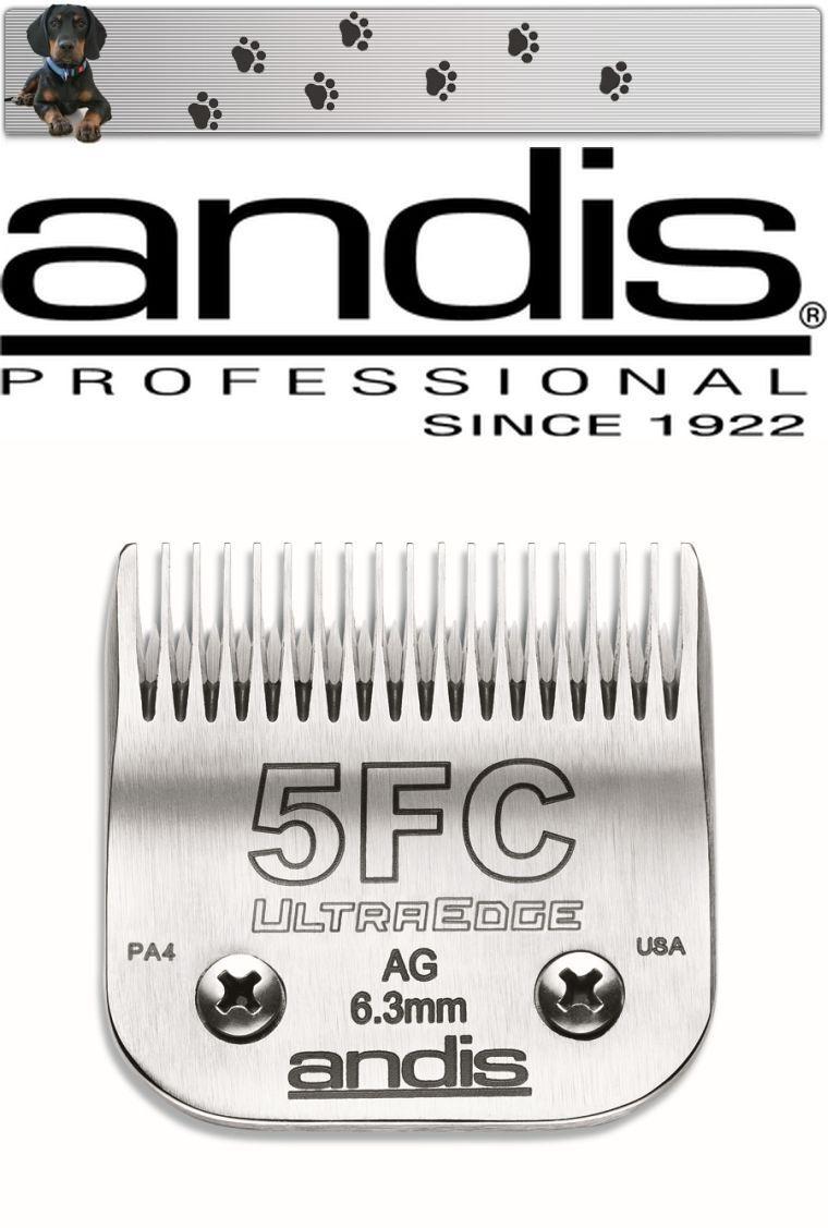 Andis Ultraedge Testina di Rasatura Size 5F 6,3 mm Aesculap  Moser  Scelta