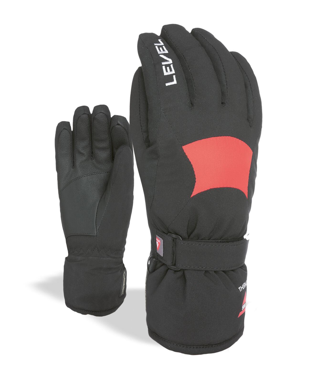 Level Handschuh  Super Radiator JR Gore-Tex black winddicht wärmend