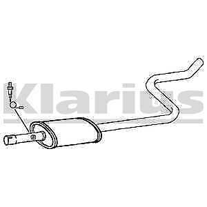 Klarius Exhaust Centre Pipe + Silencer Box CL297W - BRAND NEW - 5 YEAR WARRANTY