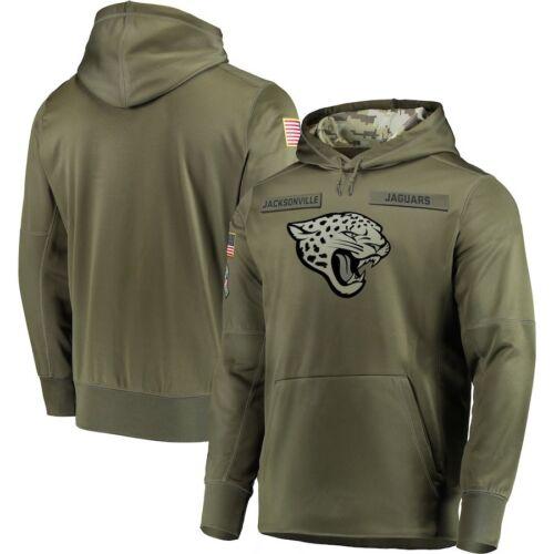 UK Jacksonville Jaguars Unisex Hooded Sweater Thicken Football Training Hoodie