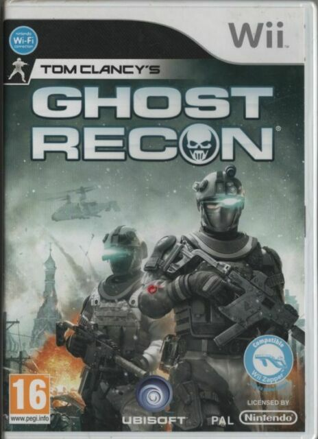 GHOST RECON / NINTENDO Wii / NEUF SOUS BLISTER D'ORIGINE / VERSION FRANÇAISE