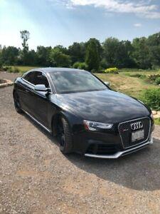 2013 Audi RS5 black