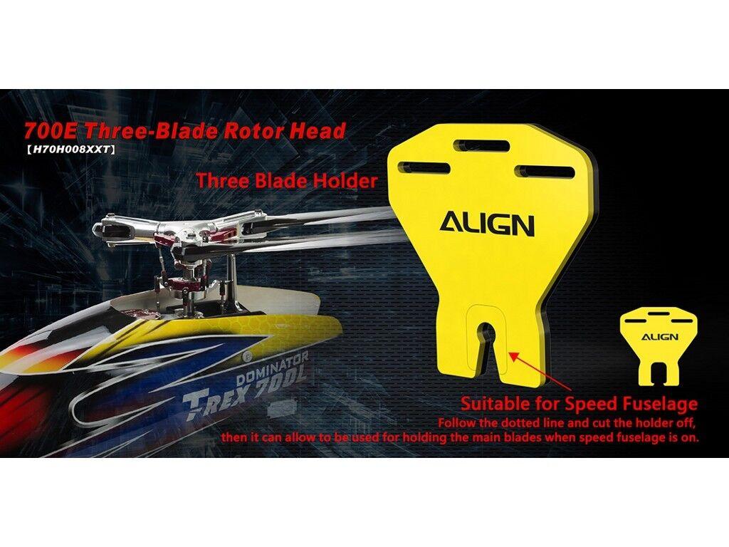 La paix paix paix est une bénédiction de fruit Align T-rex 700E trois pales de rotor head Conversion 85b086