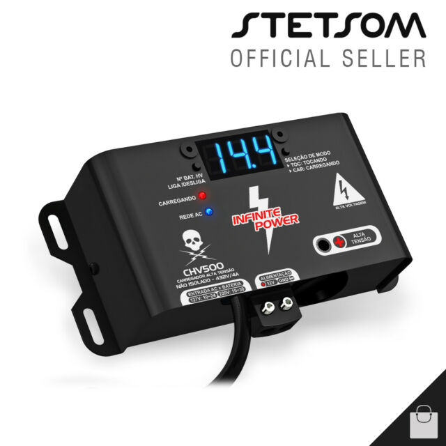 Stetsom CHV 500 Charger Power Supply Battery Voltage Source - 3 Day Delivery