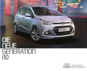 Hyundai i10 Prospekt Brochure 02.2013
