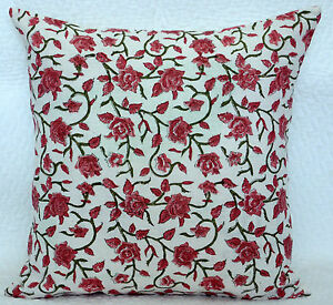 ETHNIC-INDIAN-16-034-BLOCK-PRINTED-COTTON-THROW-CUSHION-COVER-DECOR-TRADITIONAL-ART