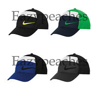 Nike Golf Swoosh All Over Mesh Colorblock Cap Unstructured Baseball Hat Unisex