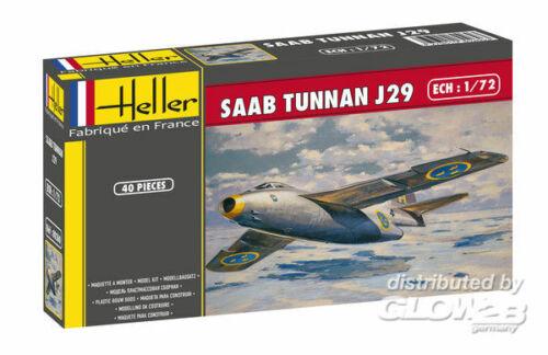 Heller 80260 Plastikmodellbau Luftfahrt SAAB Tunnan