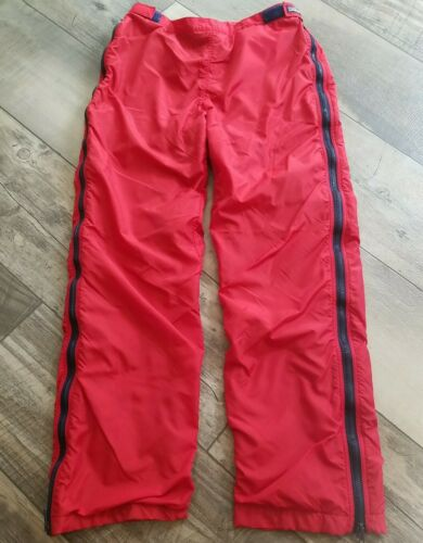 Vintage 90s PATAGONIA Fleece Insulated Red Snow Pa