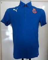 Espanyol Rcd Blue Polo Shirt By Puma Adults Size Small Brand With Tags