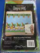 Jungle Pals Safari Monkey Birthday Party Decoration Banner Top Panel Room Roll