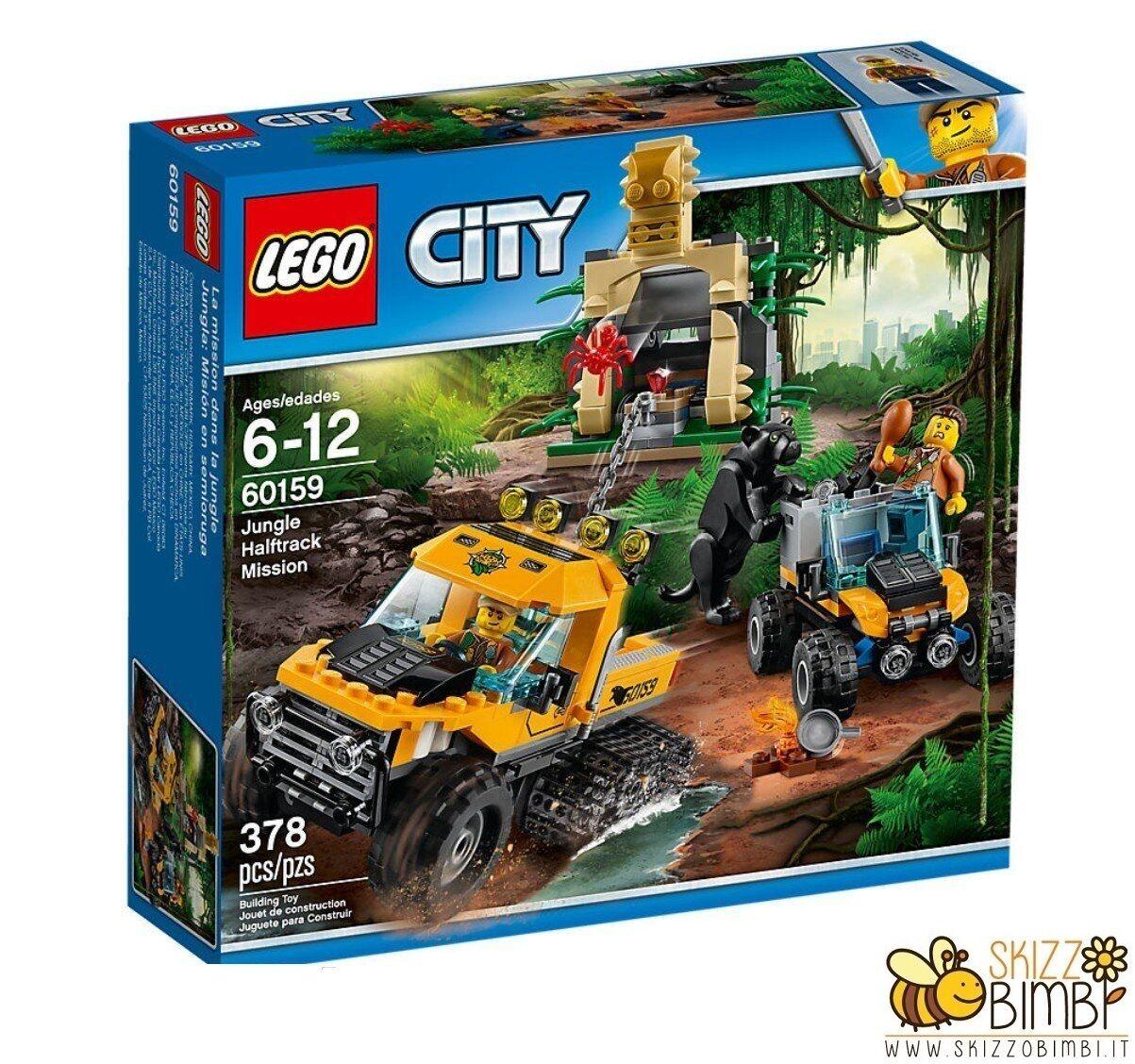 Lego City City City Jungle Explorers Missione nella giungla con il semicingolato 7d9567