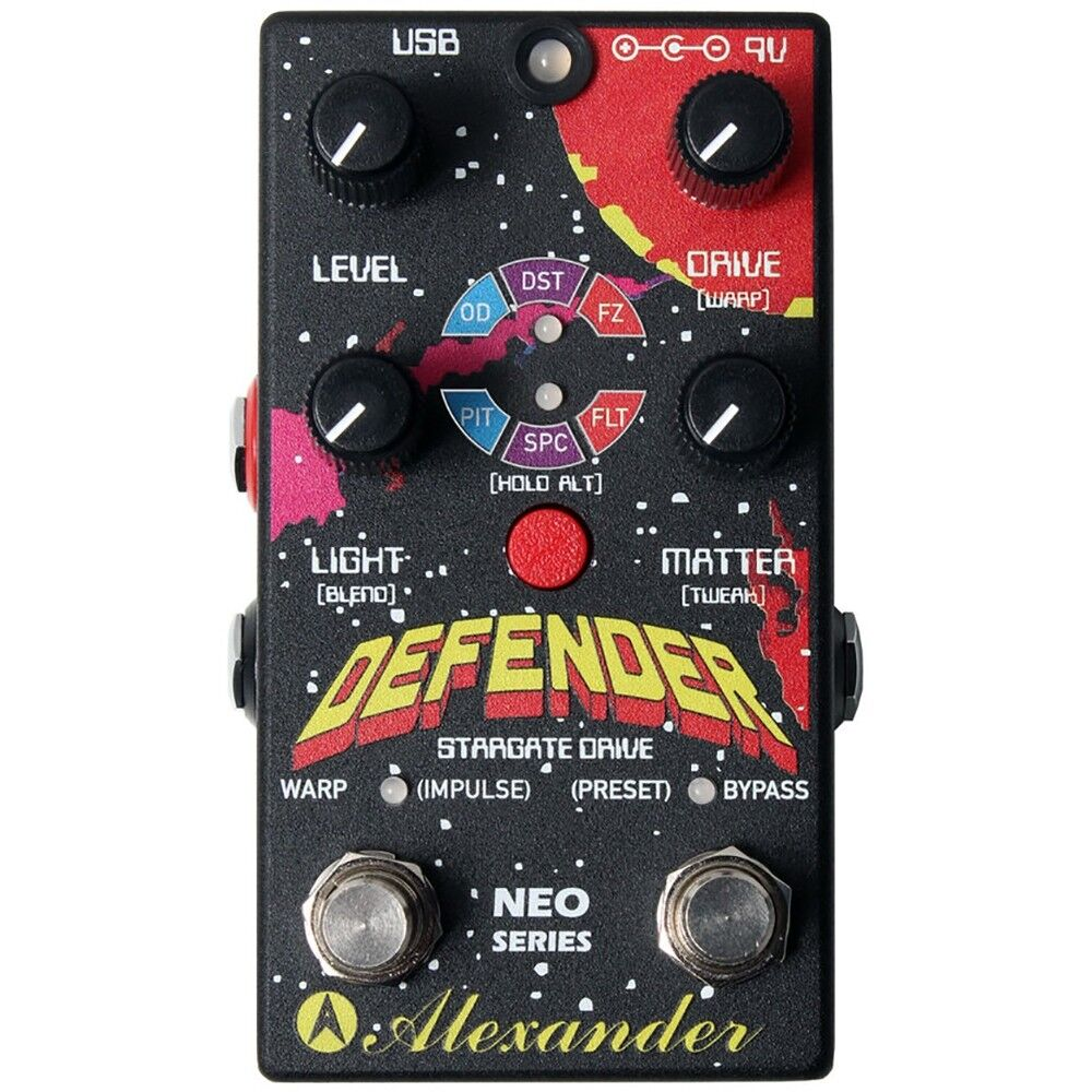 Alexander Pedals Defender Digital Drive Guitar Effects Pedal