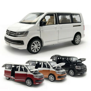 VW T6 Multivan MPV 1:32 Model Car Diecast Toy Kids Gift Sound /& Light Black