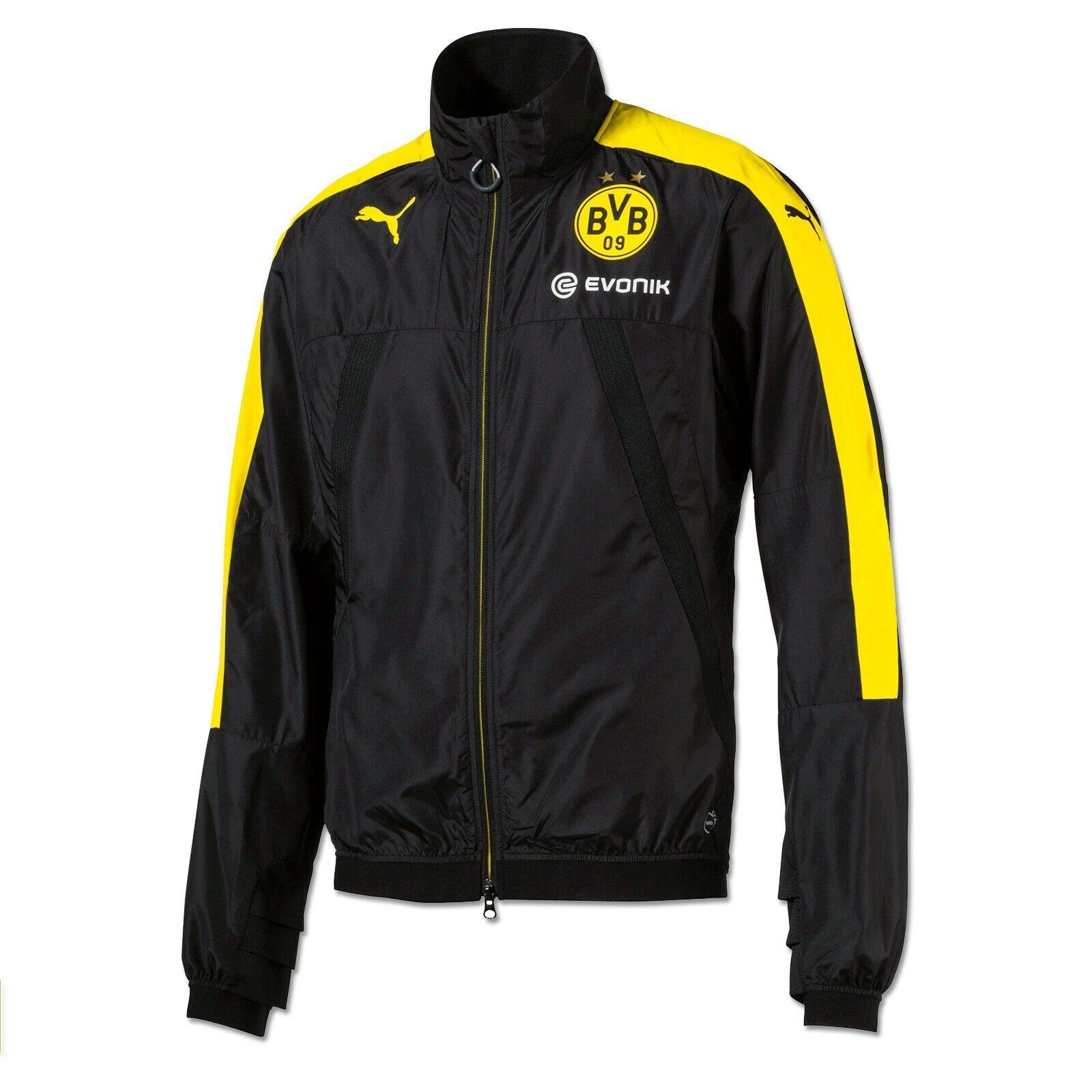 BVB-Trainingsjacke (schwarzgelb) Schwarz Borussia Dortmund