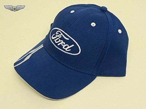 Ford Lifestyle Collection New Genuine Ford Oval Blue Baseball Cap Hat 35020531