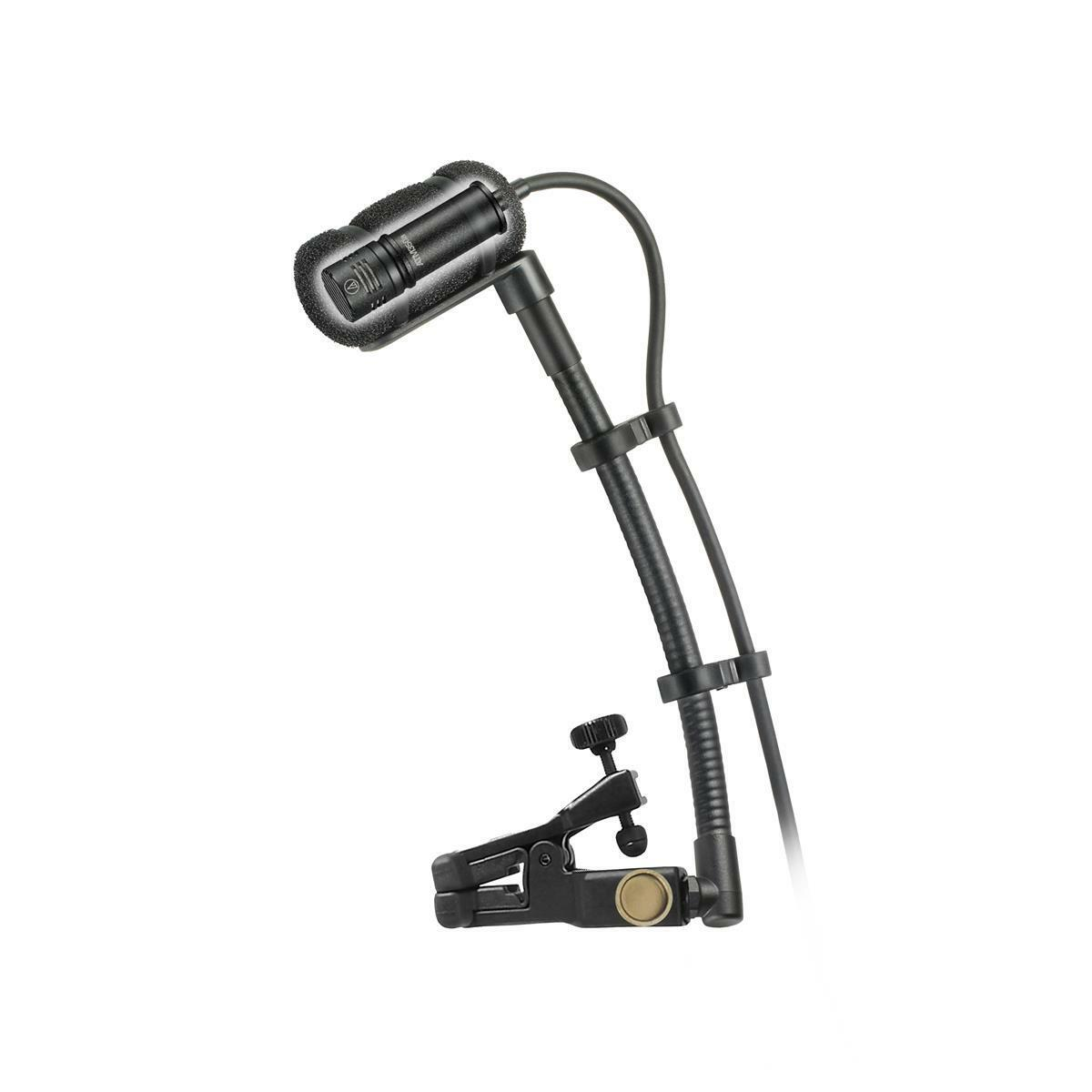 Audio-Technica ATM350UcW Cardioid Condenser Clip-on Instrument Microphone 2DAY