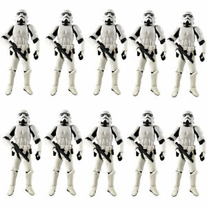 """Lot 10 Hasbro 3.75"""" Star Wars Stormtroopers OTC Trilogy Action Figure Boy Toy"""