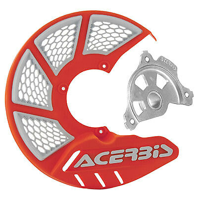 Acerbis X-Brake Vented Front Disc Cover with Mounting Kit 16 KTM Orange//White