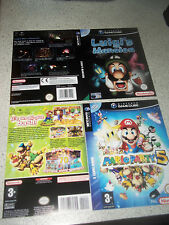 Nintendo Gamecube Replacement Game Case Insert/Sleeve.REPRODUCTION.PAL.NO GAME.