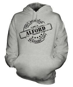 Unisex Mens Ladies Made Christmas 50th Gift Womens In Alford Birthday Hoodie qw6fO1