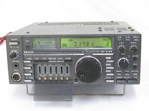 For Parts Icom Ic 731 Ham Radio Hf All Band Transceiver Ebay