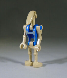 Battle Droid Commander with 1 Straight Arm LEGO System Star Wars Minifig Tan