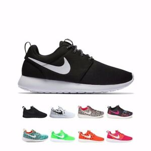 47be91fff9ae0 Details about 844994 Nike Roshe One Premium Print OG Running Shoes Women's  599432 749986