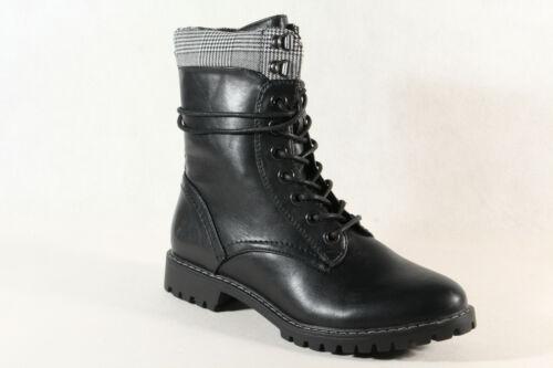 S Oliver Bottes Femmes Bottine Bottes D/'hiver Noir 25218 nouveau