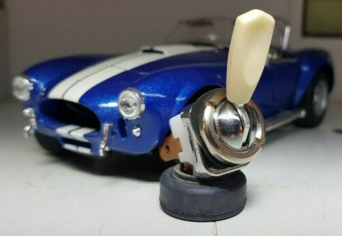 Classic Car Dash Instrument On//Off Ivory Cream Toggle Switch Lucas Type SPB200