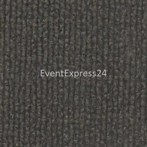 Hochzeitsteppich Rips Teppich 50m Länge 200cm Breite Taupe dunkelgrau
