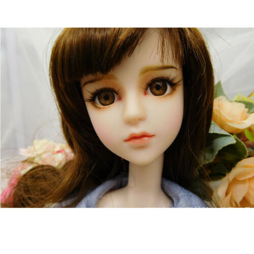 1 Pair 1//4 BJD 45cm Doll False Eyelashes Strips Makeup Accessories Girl