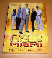 DVD Box CSI: Miami Staffel Season 2 Two Zwei - Epsioden 1 - 12 DVDs 2.1 Neu OVP