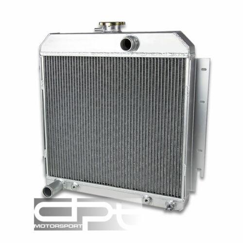 FOR DODGE CHARGER//DART//PLYMOUTH SATELLITE V8 3 ROW//CORE ALUMINUM CHROME RADIATOR