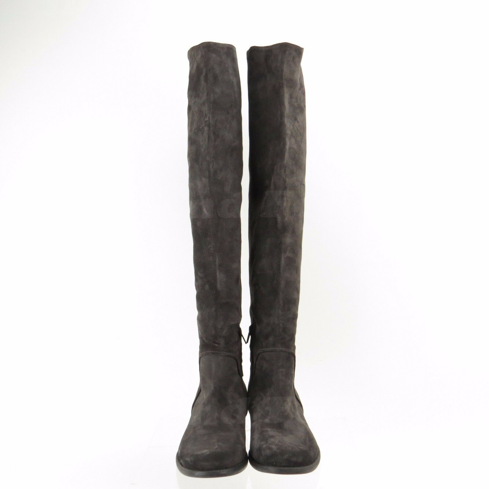 Sesto Meucci Women's shoes Black Suede Suede Suede Over the Knee Boots Size EU 41 c97a03
